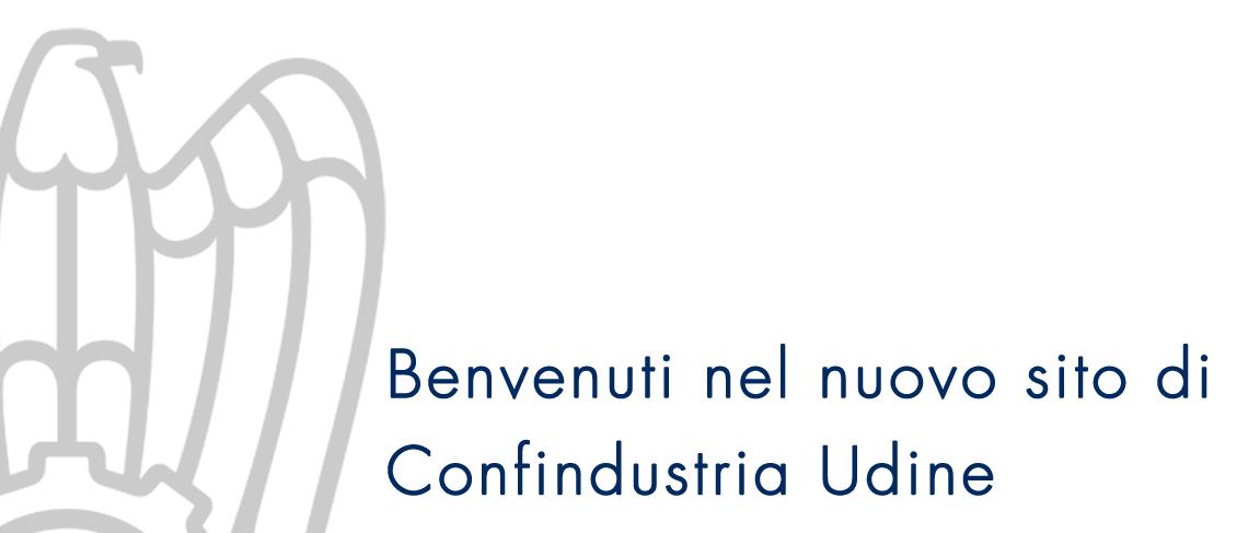 Benvenuti nel nuovo sito di Confindustria Udine.