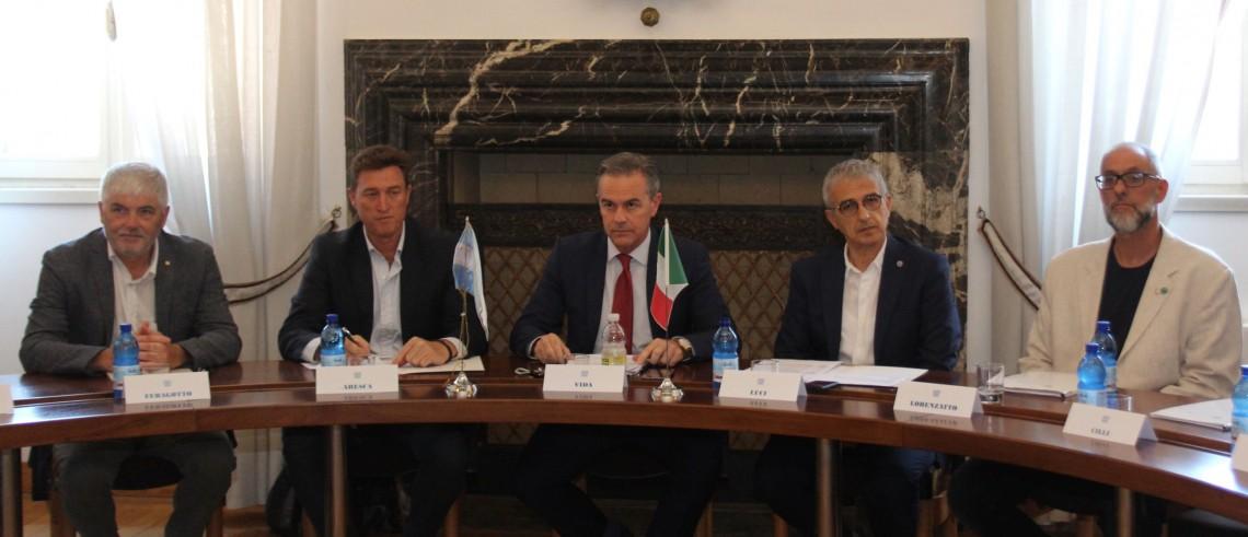 Delegazione argentina in visita in Friuli
